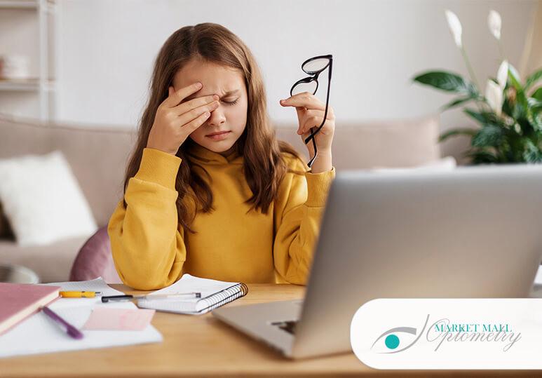 An Optometrist Guide To Back To School Eye Care: Preventing Digital Eye Strain In Children